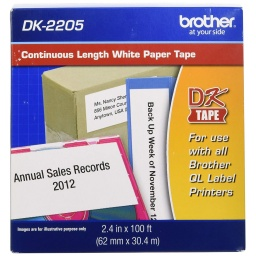 ROLLO CONTINUO BROTHER DK-2205 62mmx30.48m