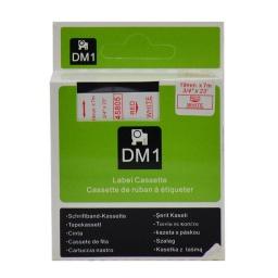 CINTA COMPATIBLE DM1 45805 19mm ROJO/BLANCO
