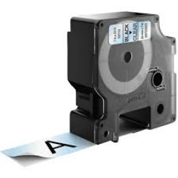 CINTA COMPATIBLE DM1 53710 24mm NEGRO/TRANSPARENTE