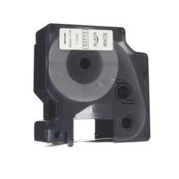 CINTA COMPATIBLE DM1 53713 24mm NEGRO/BLANCO