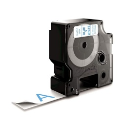CINTA COMPATIBLE DM1 53714 24mm AZUL/BLANCO