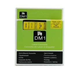 CINTA COMPATIBLE DM1 450118 12MM NEGRO/AMARILLO
