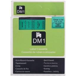 CINTA COMPATIBLE  DM1 45019 12mm NEGRO/VERDE