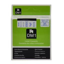 CINTA COMPATIBLE DM1 45804 19mm AZUL/BLANCO