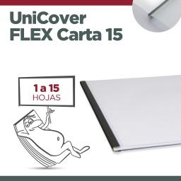 UNICOVER FLEX/PLUS CARTA 15 (Hasta 15 hojas)