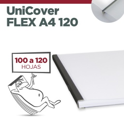 UNICOVER FLEX/PLUS A4 120 (Entre 100 y 120  hojas)