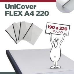 UNICOVER FLEX/PLUS A4 220 (Entre 160 y 220  hojas)
