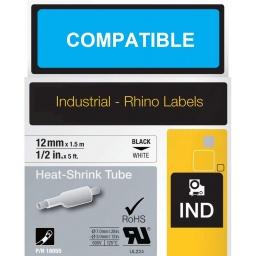 TERMOCONTRAIBLE COMPATIBLE RHINO 18055 12mmX1,5m NB