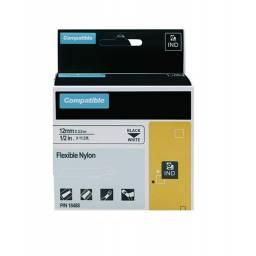 Cinta Flexible Nylon Compatible RHINO 18488 12mmX3,5m NB