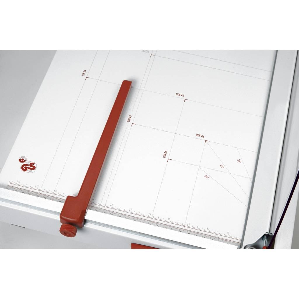 Tamaños de papel estándar desde A6 hasta A4.