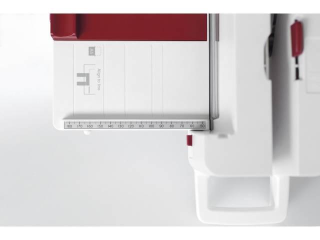 Sistema de topes con pocisiones prefijada para formatos A4, A5 y B5.