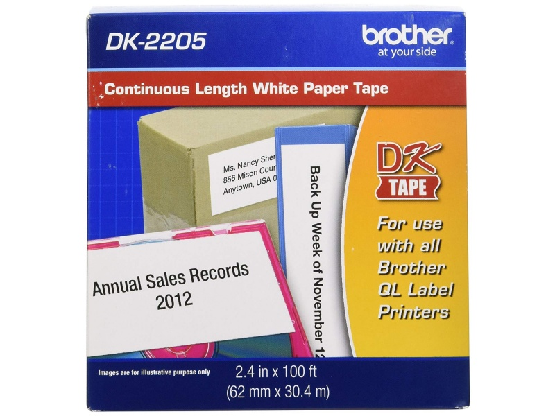 CINTA BROTHER DK-2205 62mmx30.48m Continuo