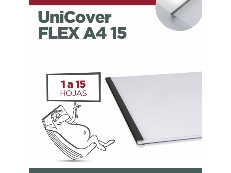 UNICOVER FLEX/PLUS A4 15 (Hasta 15 hojas)