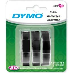 Cinta de relieve para rotuladora Dymo Organizer Express B/N