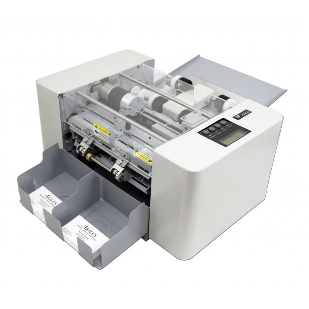 Ahorre tiempo y dinero con la cortadora de tarjetas Akiles CardMac Pro