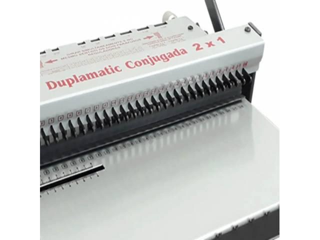 Duplamatic Conjugada 2:1 Lassane para Wire-O