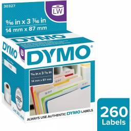 ROLLO ETIQUETAS DYMO LW30277 14x87mm  x260