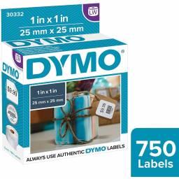 ROLLO ETIQUETAS DYMO LW30332 25x25mm x750