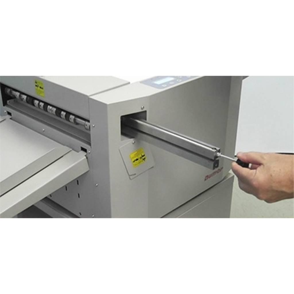 Cambio de herramienta de hendido / microperforado