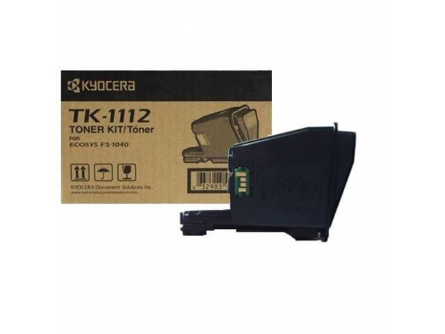 Para ser usada con tóner Kyocera TK1112 Negro