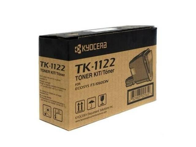 Para ser usada con tóner Kyocera TK1122 Negro