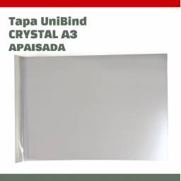 TAPA UNIBIND CRYSTAL A3 APAISADA - SCORED