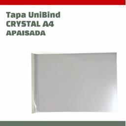 TAPA UNIBIND CRYSTAL A4 APAISADA - SCORED